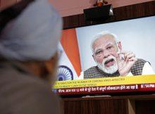 India locks down its 1.3 billion people to halt coronavirus spread